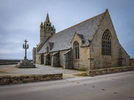Brittany 25 - Seaside Church by HermitCrabStock