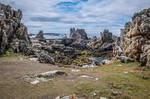 Ouessant Island 06 Seaside Cliff Rocks and Bridge