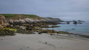 Ouessant Island 11 - Seaside Rocks Beach by HermitCrabStock