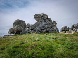 Ouessant Island 15 - Turtle Rock by HermitCrabStock