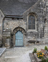 Brittany 45 - Church Small Door by HermitCrabStock