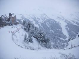 Avoriaz 002 - Snowy Mountain by HermitCrabStock