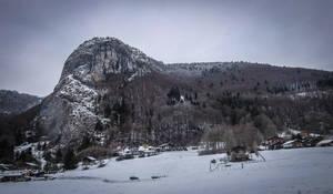 Avoriaz 006 - Snowy Mountain by HermitCrabStock