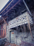 Yvoire 008 - Balcony by HermitCrabStock