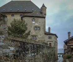 Yvoire 003 - Castle by HermitCrabStock