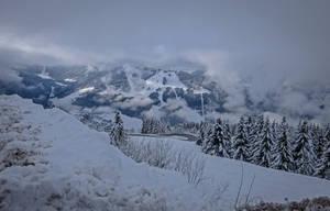 Avoriaz 023 - Snowy mountain by HermitCrabStock
