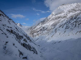 Chamonix Mt Blanc 054 - Glacier by HermitCrabStock