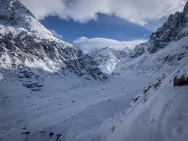 Chamonix Mt Blanc 050 - Glacier by HermitCrabStock
