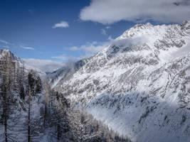 Chamonix Mt Blanc 048 - White Mountain by HermitCrabStock