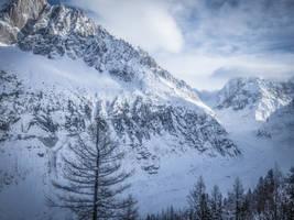 Chamonix Mt Blanc 058 - Glacier by HermitCrabStock