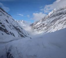 Chamonix Mt Blanc 057 - Glacier by HermitCrabStock