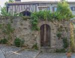 Ariege 034 - Old door