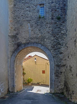 Ariege 028 - StLizier Door