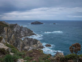 Asturias 17023 - Sea and Cliff by HermitCrabStock