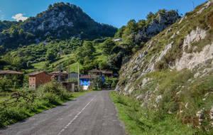 Asturias 17076 - Village in the Mountain by HermitCrabStock