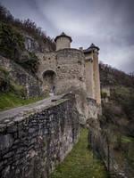 Medieval Castle 02 - Larroque Toirac by HermitCrabStock