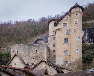 Medieval Castle - Larroque-Toirac 2018 by HermitCrabStock