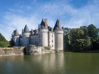 Bourg-Archambault Castel 2 by HermitCrabStock
