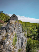 Angle 08 - Chapel on the Cliff by HermitCrabStock