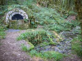 Le Caillon - Fountain bridge and stream -  DSCF534