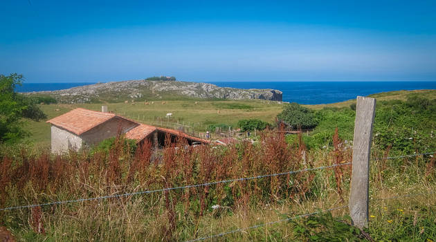 Asturias - DSCF5500 - Seaside Scape