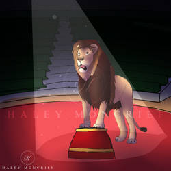 Circus Lion YCH - OPEN