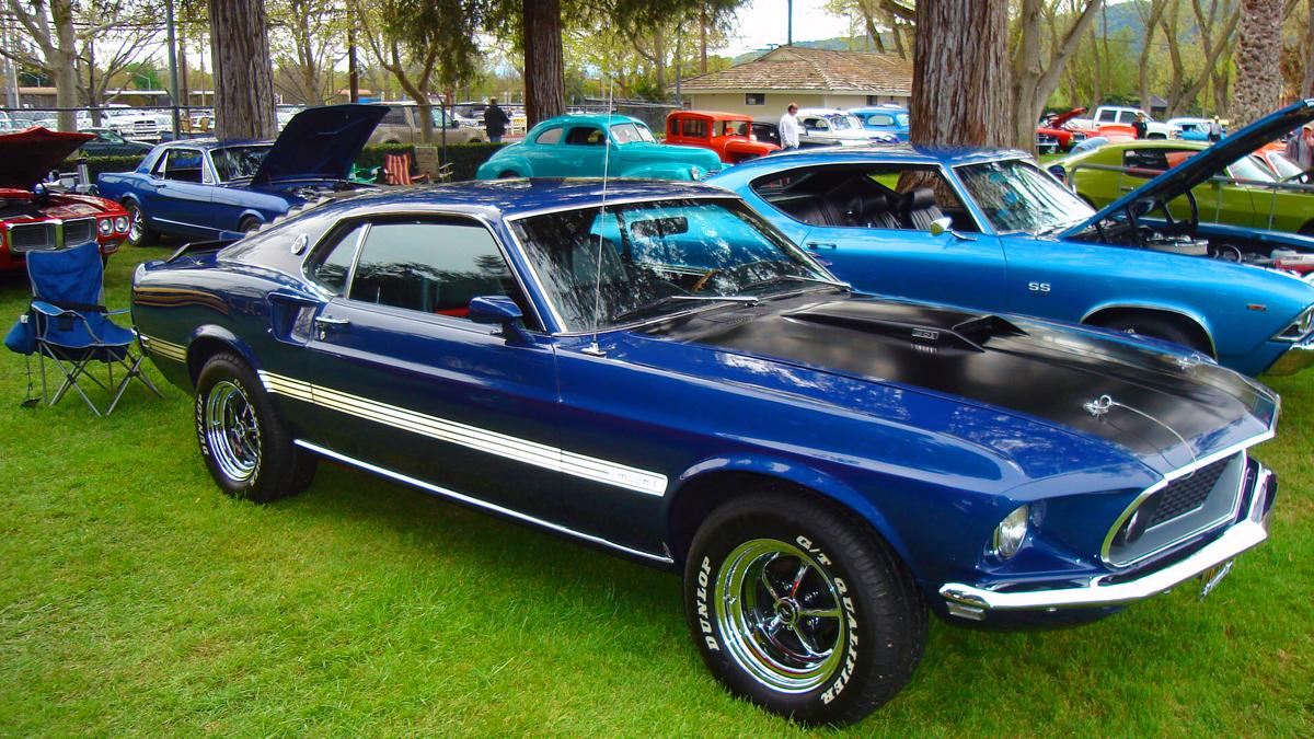 Blue Mustang. by SYSPLUCK on DeviantArt