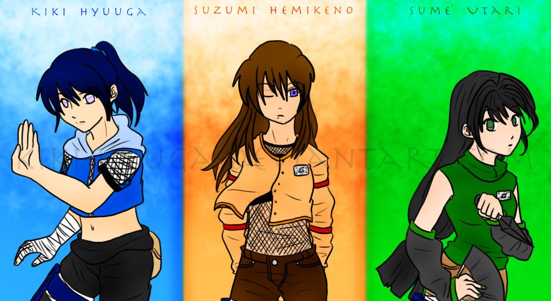 Naruto - Team Kiki by Kiki-Hyuga