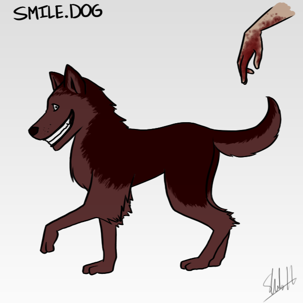 how to summon smile dog