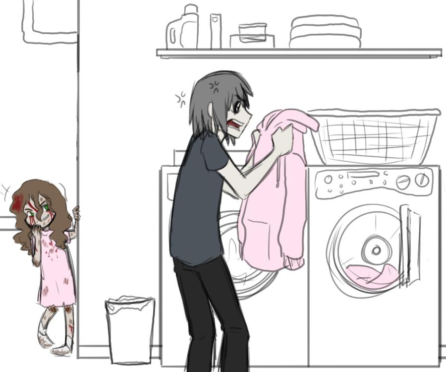Laundry Day by Kiki-Hyuga