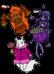 UT - Runa, Moona and Foxy