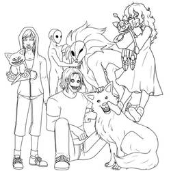 Collab - Creeps and Their Pets