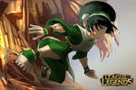 LOL League of Legends Taliyah skins Toph!!!