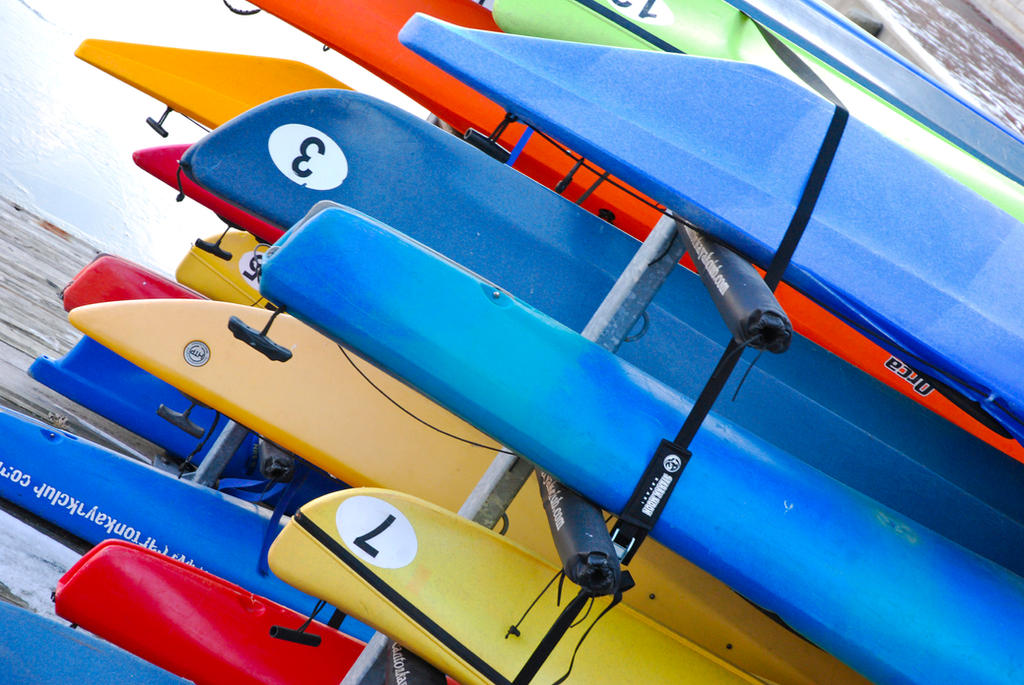 Kayaks by RubyRadio