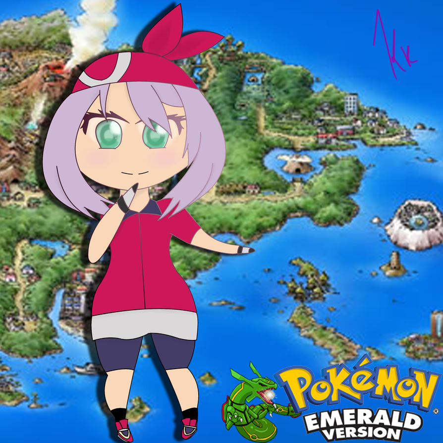 Pokemon May Emerald Outfit Anime Images   Pokemon Images