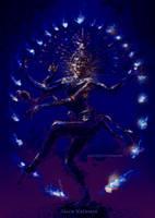 Shiva Nataraja DANCE OF COSMOS by WalterPQ