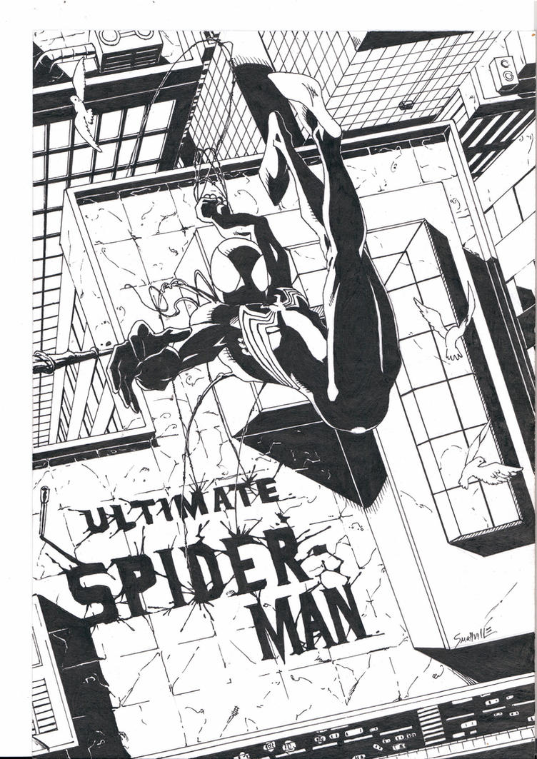 Ultimate Black Spidey by DVSmallville
