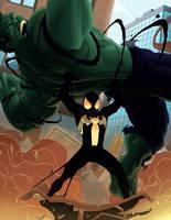 Black Spidey by DVSmallville