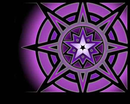 Astral Rune - Framed