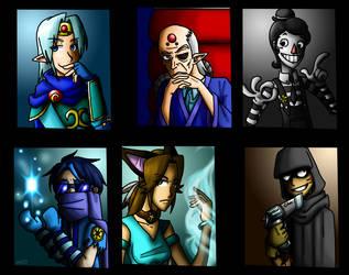 Villains by medli20