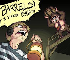 BARRELS! by medli20