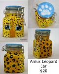 Amur Leopard Jar for sale by Hyena27