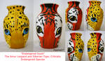 Endangered Souls Vase For Sale by Hyena27