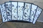 Tribal Big Cat Bookmarks