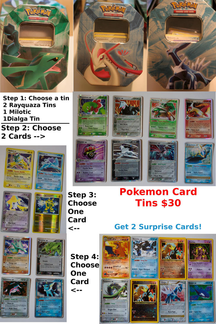 Pokemon Cards For Sale! by Hyena27