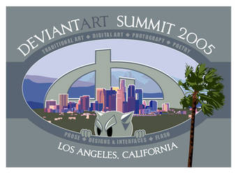 deviantART SUMMIT 2005 Logo by illufox