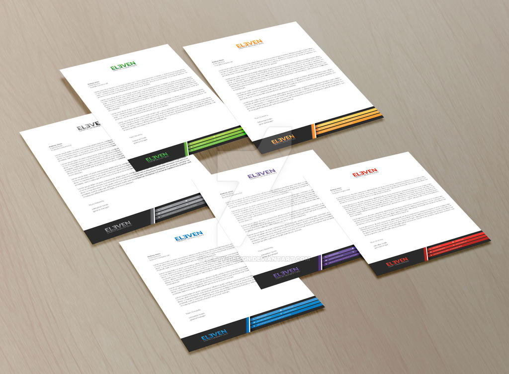 Corporate Letterhead By BettyDesign On Deviantart