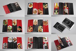 Elegant Restaurant Menu - Business Card