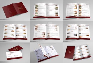 Restaurant Menu and Business Card