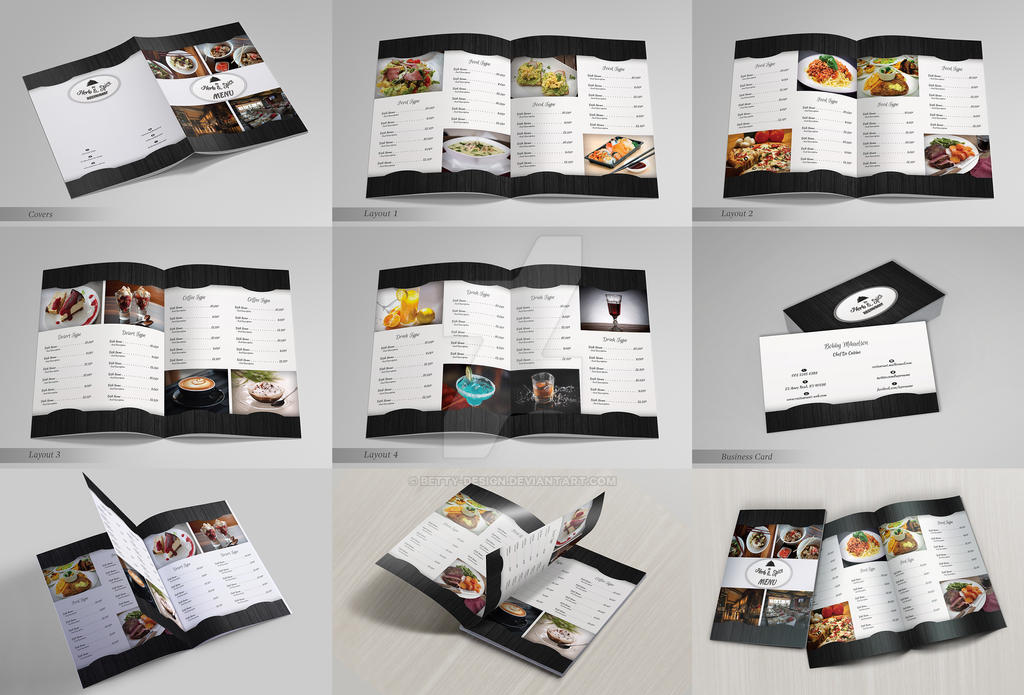 Restaurant Menu and Business Card